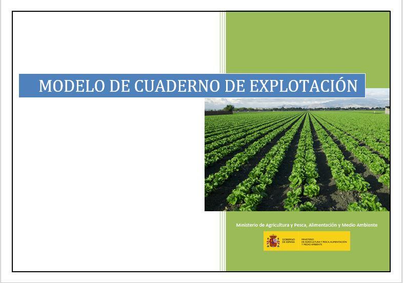 Cuaderno de explotación agrícola