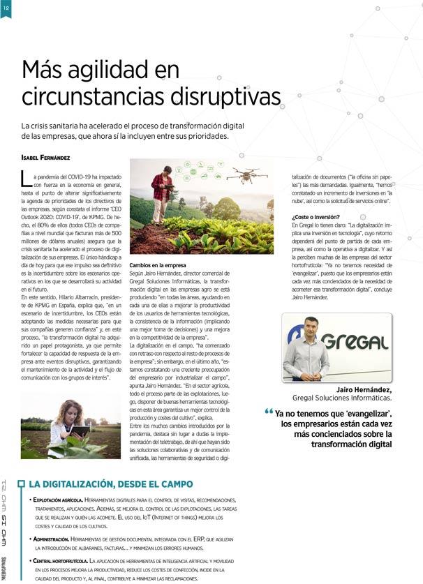 Digitalizacionen el sector agro - erp agro