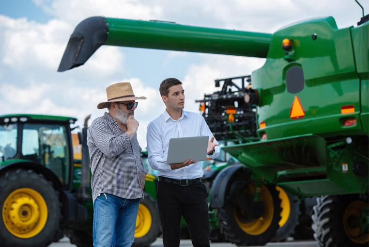 Gestión de maquinaria ERP Hortofrutícola empresa agroalimentaria