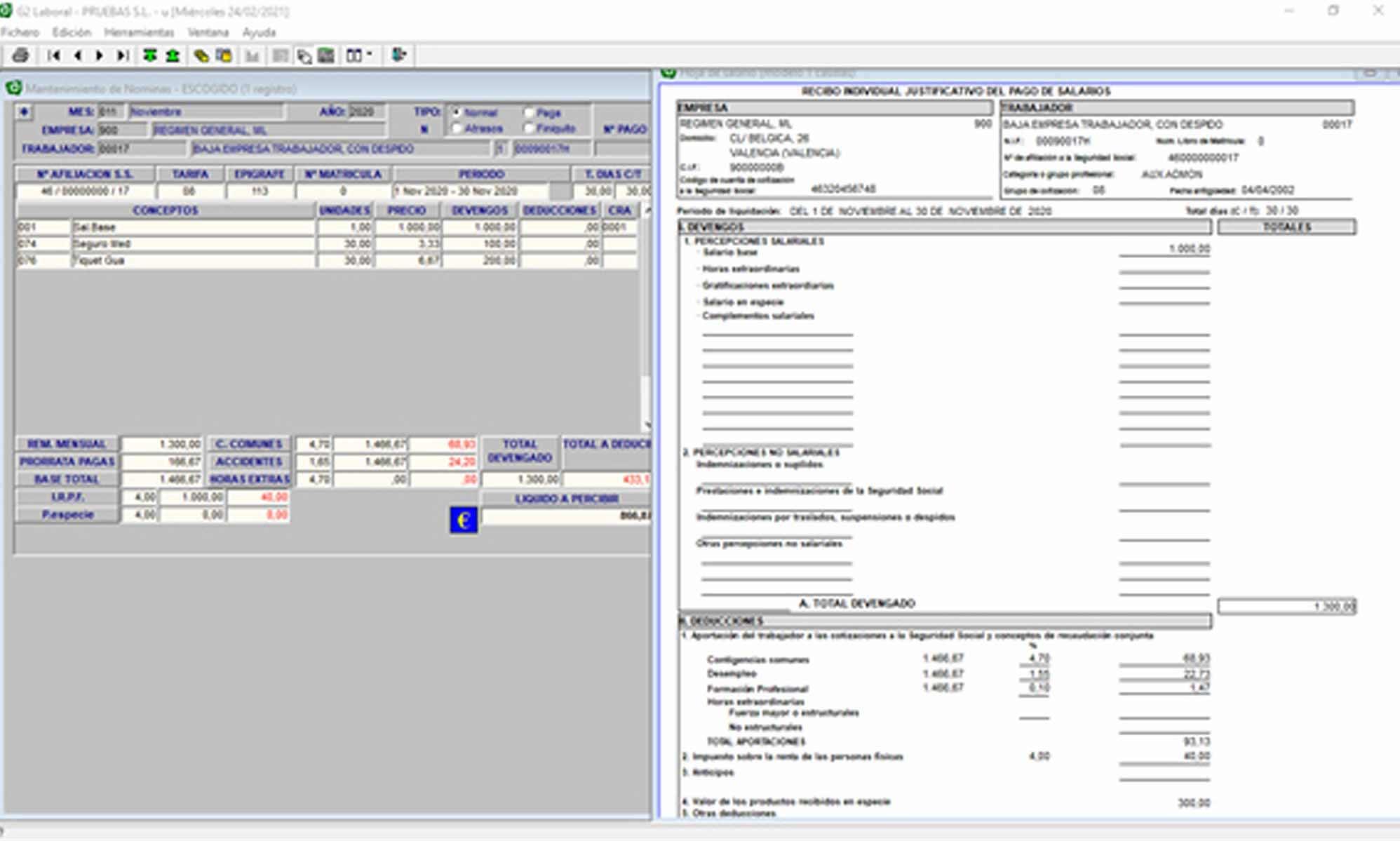 Gestión de nóminas y salarios con el software ETT agricultura 2